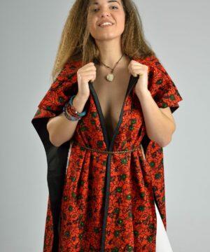 kimono,ropa artesanal con tejidos africanos, ropa infantil y adulto en hondarribia,guipuzcoa