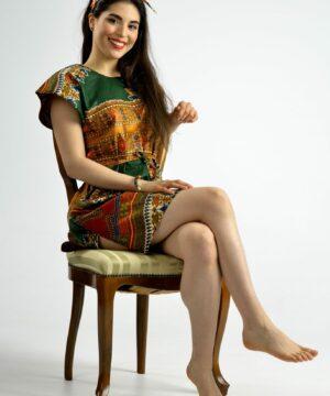 ropa artesanal con tejidos africanos, ropa infantil y adulto en hondarribia,guipuzcoa